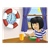 Girl Eating Breakfast Color PNG