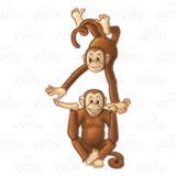 Acrobatic Monkeys