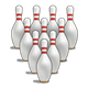 Bowling Pins set of 10