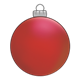 Round Red Ornament