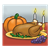 Thanksgiving Dinner Color PNG