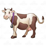 Spotted Brown Cow