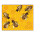 Six Honeybees Color PNG