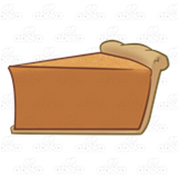 Pumpkin Pie Slice 2