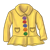 Yellow Raincoat Color PNG