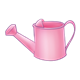 Pink Watering Can with handle