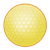 Yellow Golf Ball Color PNG