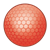 Red Golf Ball Color PNG