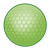 Lime Green Golf Ball Color PNG