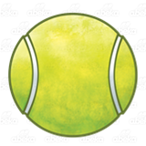 Green Tennis Ball 1