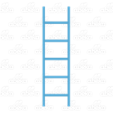 Blue Blend Ladder