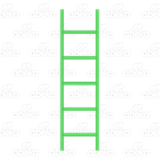 Green Blend Ladder