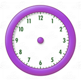 Purple Clock