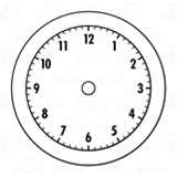 Brown Clock