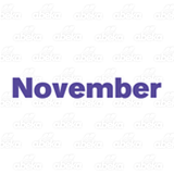 Month of November
