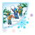 Snowy Scene Color PNG