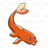 Long Orange Fish