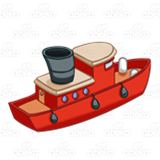 Red Tugboat
