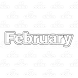 Month of February