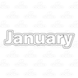 Month of January