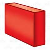 Long Red Block