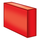 Long Red Block rectangular