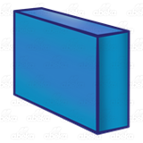 Long Blue Block