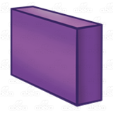 Long Purple Block