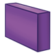 Long Purple Block rectangular