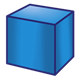 Blue Block square