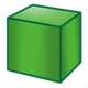 Green Block square