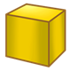 Yellow Block square
