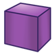 Purple Block square