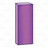 Tall Purple Block