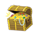 Treasure Chest full of treasure