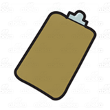Brown Clipboard