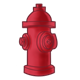 Red Fire Hydrant 4