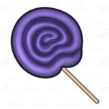 Purple Lollipop