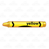Yellow Crayon