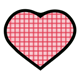 Red Heart checkered