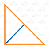 Orange Right Triangle
