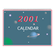 2001 Calendar with planets