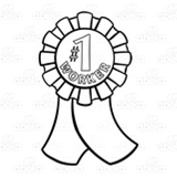 Number 1 Worker Ribbon