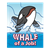 Whale of a Job Color PNG