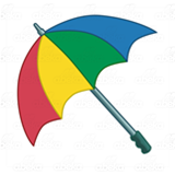 Rainbow Umbrella