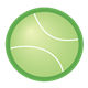 Green Tennis Ball 3