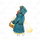 Little Girl in Blue Coat