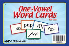 One-Vowel Word Cards Thumbnail