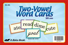 Two-Vowel Word Cards Thumbnail
