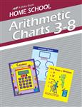 Homeschool Arithmetic 3-8 Charts Thumbnail